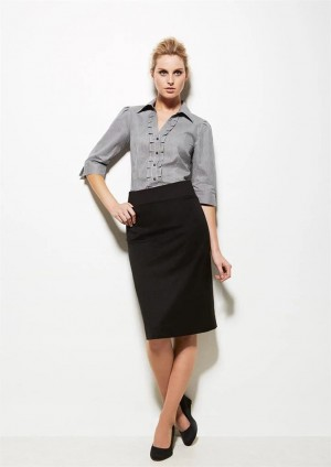 Womens Relaxed Fit Lined Skirt