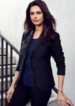 Womens 2 Button Mid Length Jacket