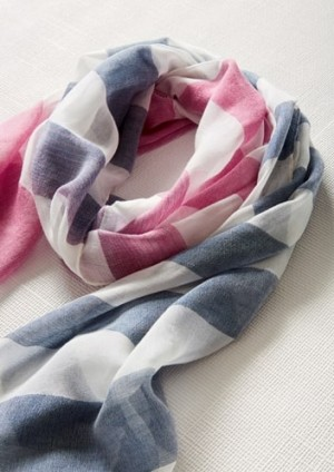 Womens Two Tone Scarf