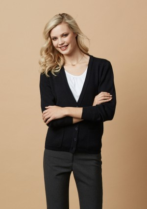 Ladies Woolmix Cardigan