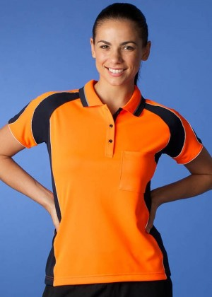 LADIES MURRAY HI VIZ POLO