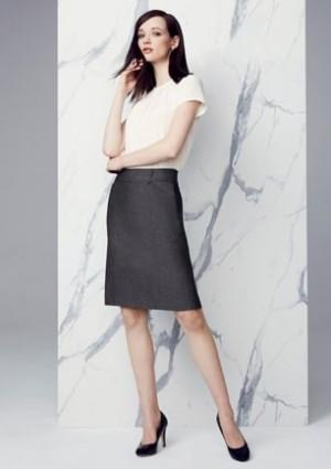 Womens Feature Pleat Skirt