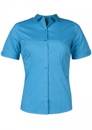 LADIES MOSMAN SHORT SLEEVE SHIRT