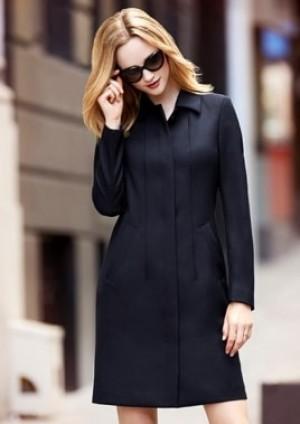 Womens Lined Overcoat