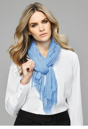 Womens Monotone Knitted Scarf