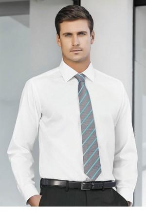 Mens Single Contrast Stripe Tie