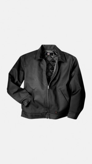 LINED EISENHOWER JACKET - Black