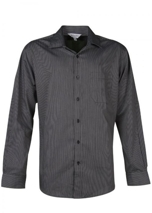 MENS HENLEY LONG SLEEVE SHIRT
