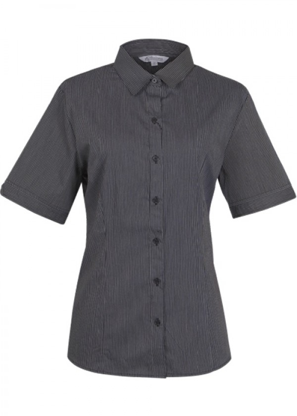 LADIES HENLEY SHORT SLEEVE SHIRT