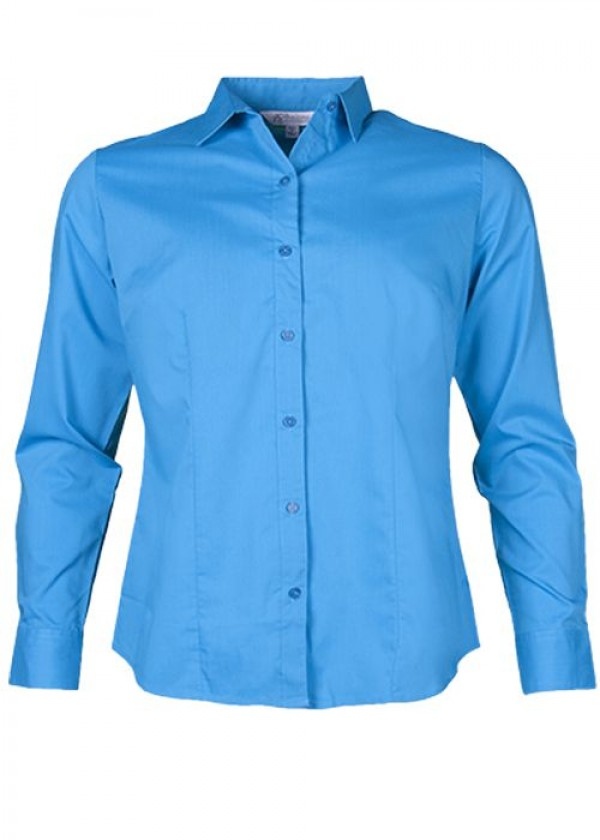 LADIES MOSMAN LONG SLEEVE SHIRT
