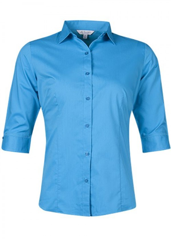LADIES MOSMAN 3/4 SLEEVE SHIRT