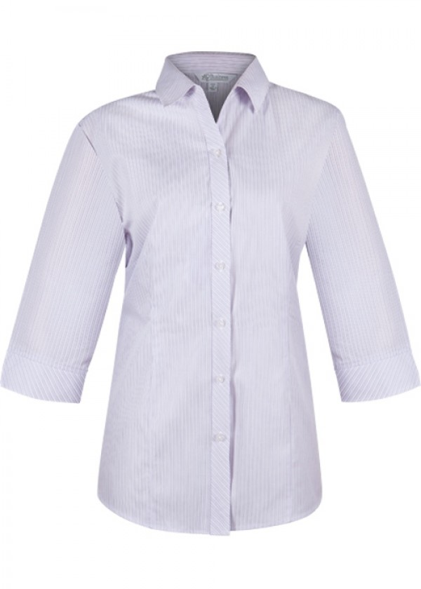 LADIES BAYVIEW 3/4 SLEEVE SHIRT