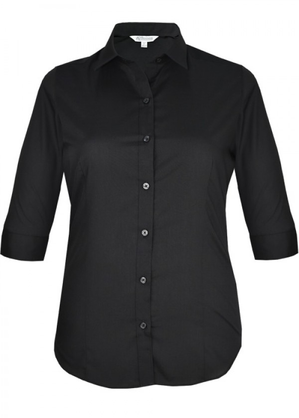 LADIES KINGSWOOD 3/4 SLEEVE SHIRT