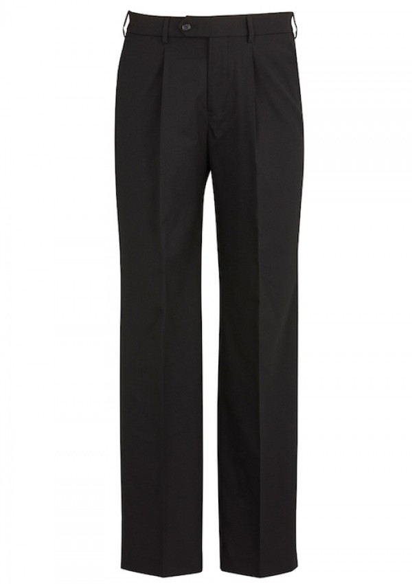 Mens One Pleat Pant Stout