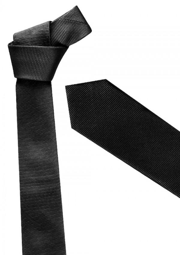 Mens Slim Monotone Design Tie