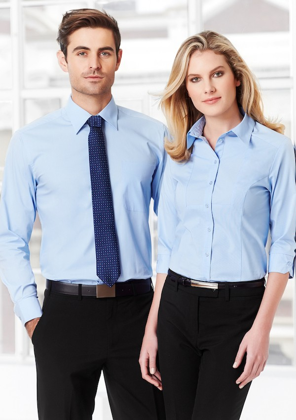 Ladies Chevron 3/4 Sleeve Shirt
