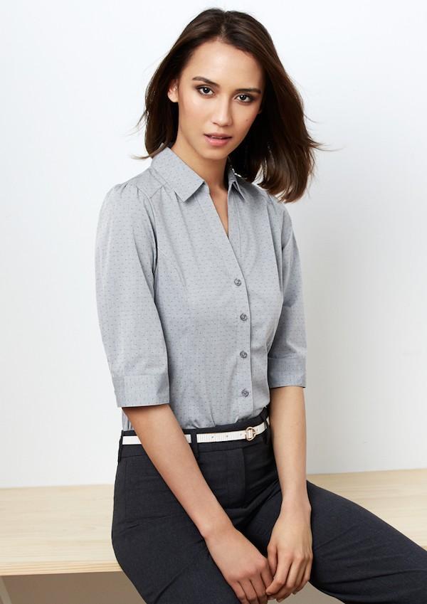 Ladies Trend 3/4 Sleeve Shirt
